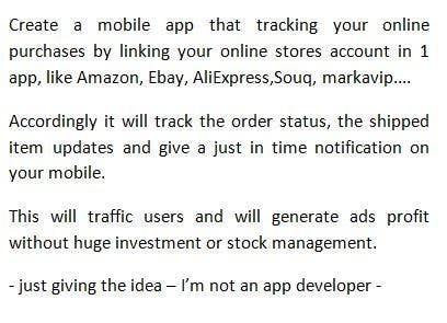 Entry #25 by rogerhd for Need startup Idea and the way to do it