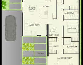 nº 16 pour Architectural floor plans / concepts for renovation par dinahic