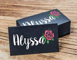 "Nro 25 kilpailuun I would like a logo designed for "" Alyssa Rose"" I was thinking a design with the name Alyssa and a rose in it some where. This is more of a brand. Please any creative ideas will be considered. käyttäjältä Rukina"