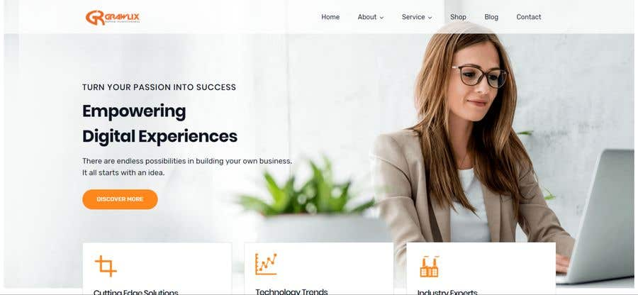 Contest Entry #25 for Build a Wordpress Website with custom theme