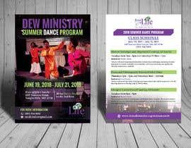 #89 cho Summer Dance Program Flyer bởi biswajitgiri
