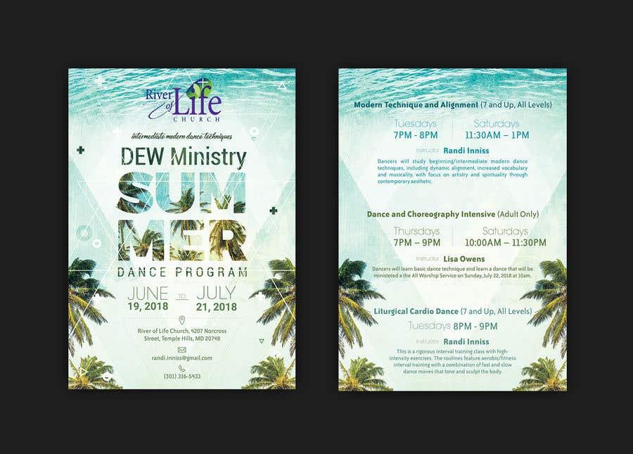 Bài tham dự cuộc thi #22 cho Summer Dance Program Flyer