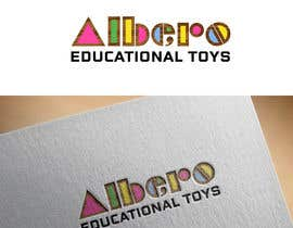 #56 para Design a Logo - Albero Educational Toys de mdrozen21
