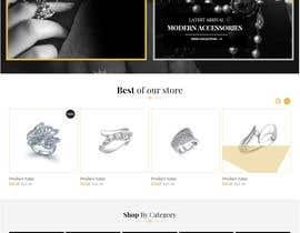 #2 για Design a Website Mockup : frederic de chander από saurmathur