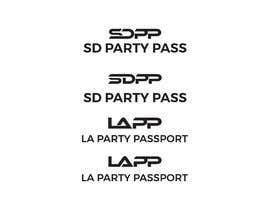 #16 for Design 2 Logos (SD Party Pass) (LA Party Passport) by JulianBerry