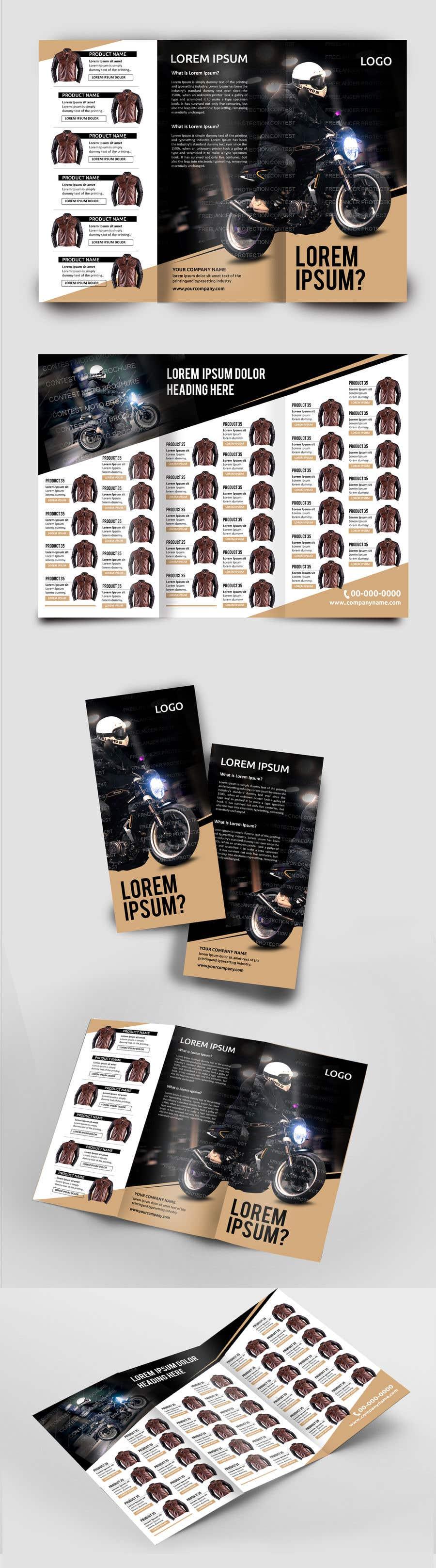 Penyertaan Peraduan #31 untuk motorbike clothing catalog