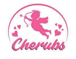 #41 untuk I am starting a childs shoe company need a logo created using a Cherub (winged baby angel) wearing leather baby moccoasins and company name is cherubs. Example of moccoasins go to birdrockbaby.com oleh anikbhaya