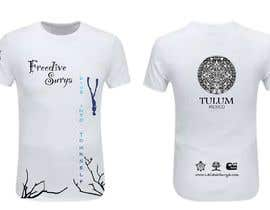 #71 for Freedive Surya T-shirt by josepave72