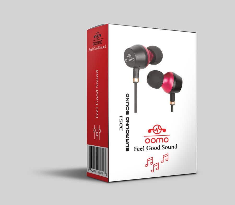 Konkurrenceindlæg #14 for Create Clean Design For In Ear Headphones Packaging (Think Apple/Bose)