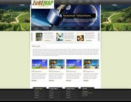 nº 73 pour One page Brochure Site Design par gaf001