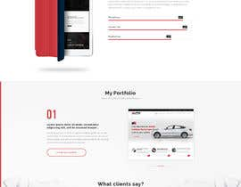 #11 for Build a HTML/CSS portfolio by MHYproduction