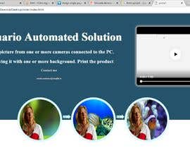 #16 for design single page web by alqanas37