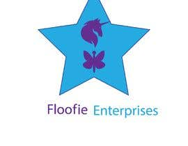 #2 for I would like a logo designed for a company. The name is Floofie Enterprises. I would like the colors used to be purple and light blue. Feel free to use glitter, butterflies and a unicorn in the design. by rashidabdur2017