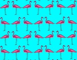 #7 for Design a fabric pattern similar to the one attached as vector illustrator file af NikiGkd