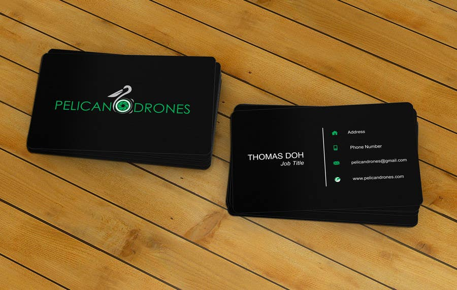 Design a Logo and business card for drone photography company ...