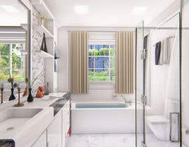 #12 for Interior design for bathroom by shrabanty