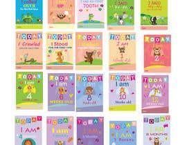 #71 untuk Design Milestonecards for Babies oleh gavinbrand