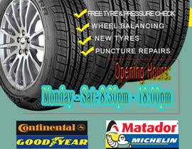 #16 for Design a Tyre Company Leaflet by sangma7618