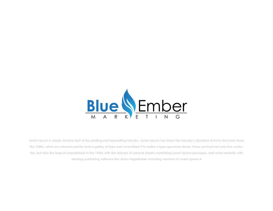 Contest Entry 557 For Logo Needed For Blueember Marketing