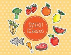 #36 for Kids Menu Design Templates by asifnaim