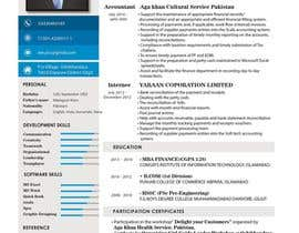 #2 for Improve Design (UX/UI) of CV ( Curriculum Vitae) in finance sektor by urko92