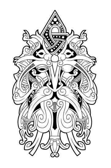 Entry 2 By Rotzilla For Create A Traditional Viking Norse Tattoo