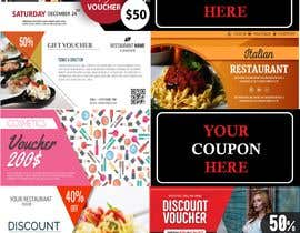#14 para Graphic Design for Coupons and Flyer de FALL3N0005000