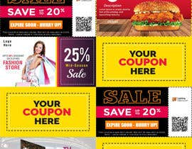 #9 para Graphic Design for Coupons and Flyer de MuhammadGfx