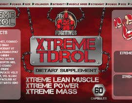 #19 for Create Label Theme for Bodybuilding Supplement Company by asadk7555