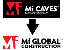 "#26 for I need a logo with the exact same as the attached ""Mi Caves"" logo but instead of ""Mi Caves"" it needs to say ""Mi Global Construction"" in the exact same font and boldness by Mostafiz600"