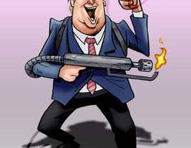 #16 for Donald Trump Cartoon af kimcarreon
