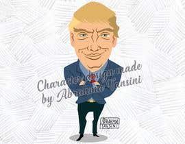 #9 for Donald Trump Cartoon af abrahmatan