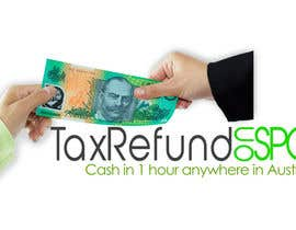 #70 untuk Logo Design for Tax Refund On Spot oleh need2work4u