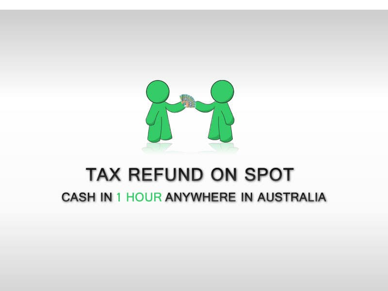 Bài tham dự cuộc thi #102 cho Logo Design for Tax Refund On Spot