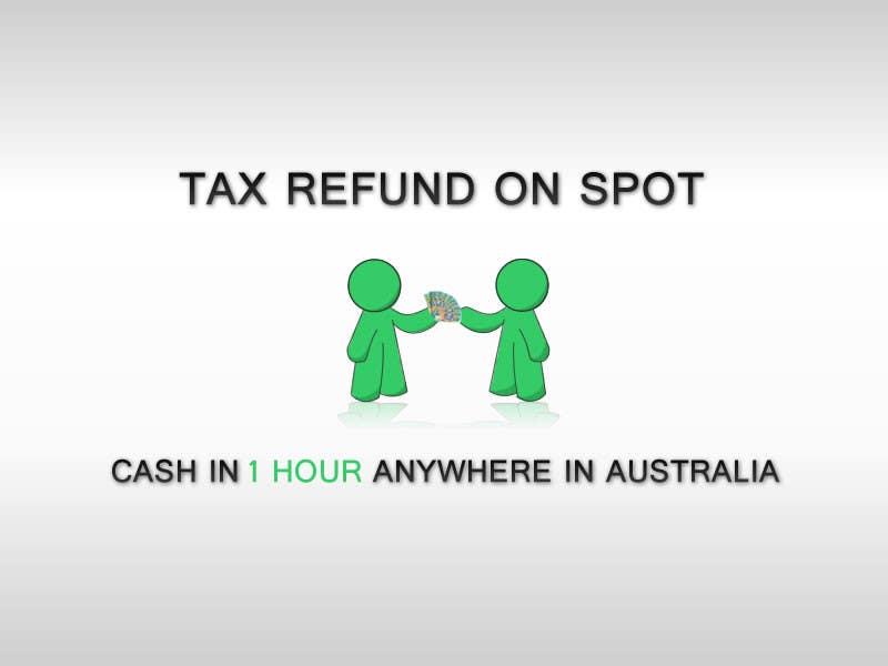 Konkurrenceindlæg #99 for Logo Design for Tax Refund On Spot