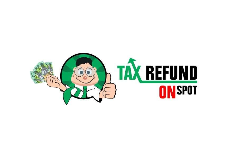 Bài tham dự cuộc thi #117 cho Logo Design for Tax Refund On Spot