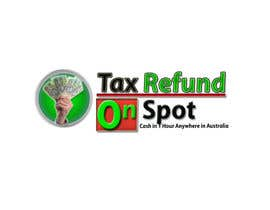 #95 untuk Logo Design for Tax Refund On Spot oleh xtremeprovider