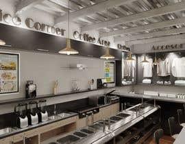 #9 for I need 3D interior designer (retail space) by davidvaldez