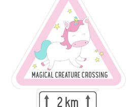 #14 for Design a Unicorn Sign for Interior Decoration by FOFADesign