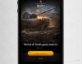 Dimariq tarafından Design a mobile landing page for World of Tanks Blitz için no 4