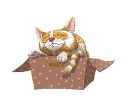 #66 untuk Draw A Cute Cat T-Shirt Design oleh MarekDAZPostulka