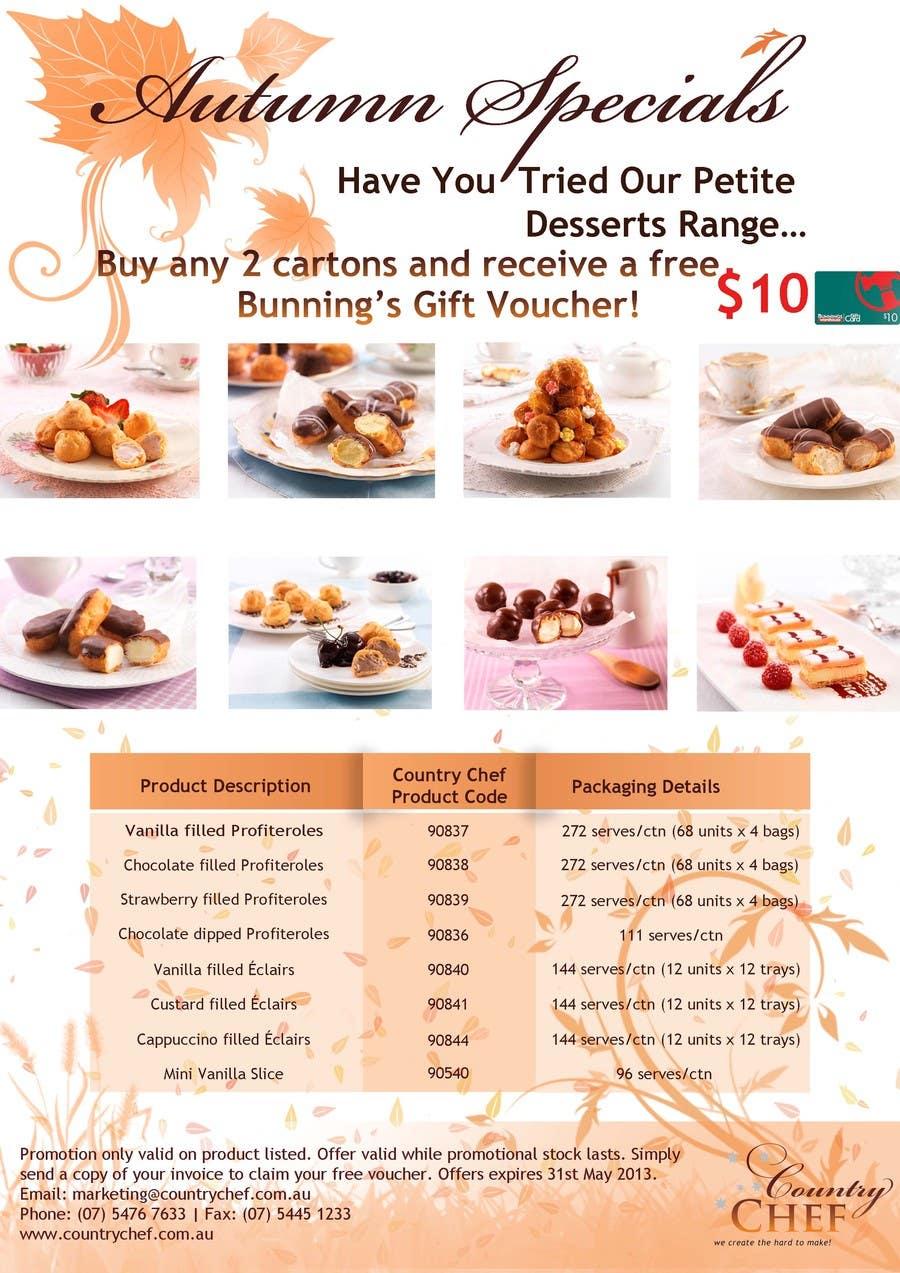 Bài tham dự cuộc thi #                                        54                                      cho                                         Graphic Design for Country Chef Desserts