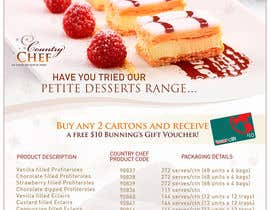 #10 pentru Graphic Design for Country Chef Desserts de către pris