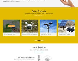 #8 , Solar Energy Landing Page with Lead gen form and Description page 来自 XD12jalandhar