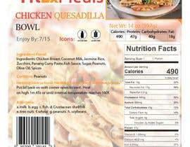 #18 for Design a Food Label for a Meal Prep Company af Mahbub33