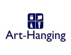 trying2w tarafından Logo Design for art-hanging.com için no 66