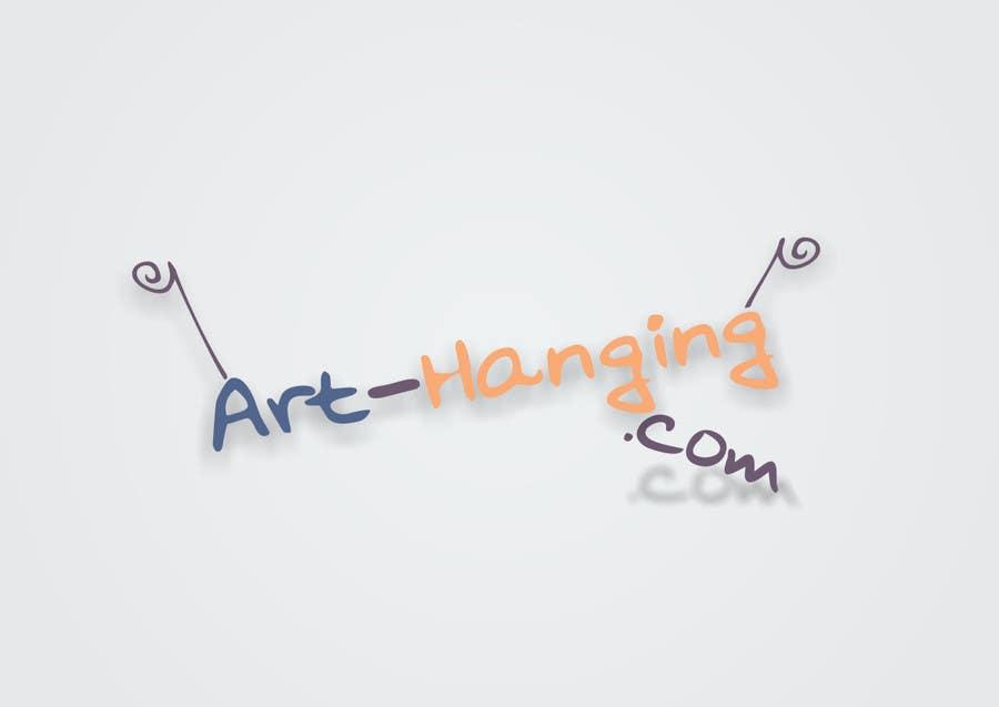 Inscrição nº 91 do Concurso para Logo Design for art-hanging.com