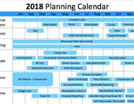 #2 for PowerPoint Planning Calendar by mikactsuchida