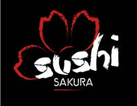 hadinisar tarafından Illustrate a Logo Sushi Sakura için no 12