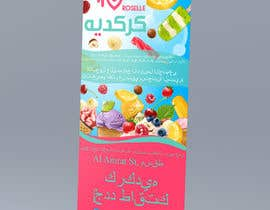nº 23 pour design menu and rollup stand banner in Arabic par yana24kr
